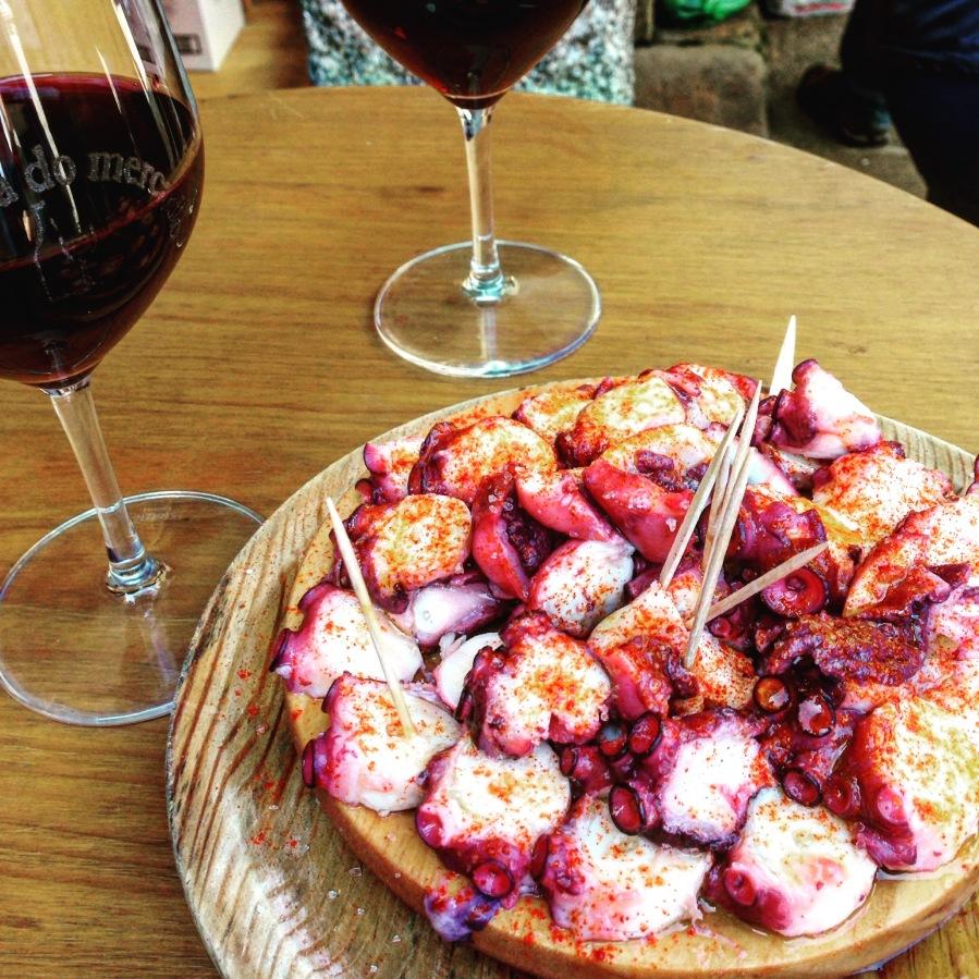 The singular Galician dish.