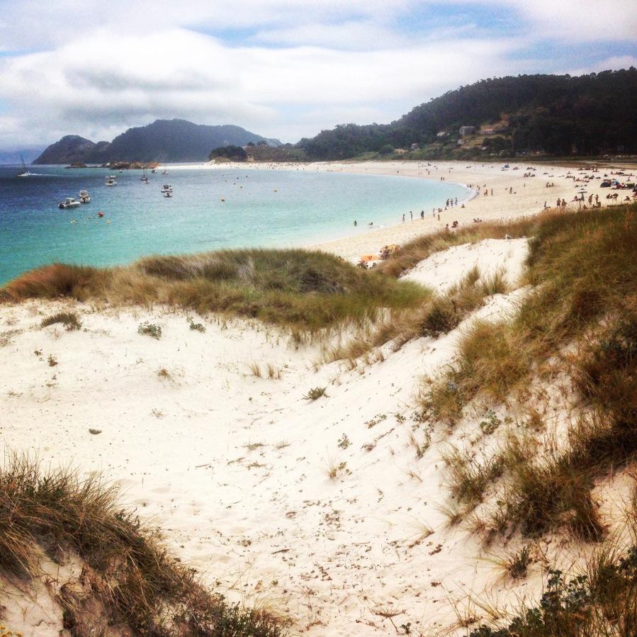 Rodas Beach on Cíes Islands.