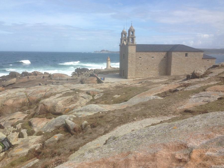 Virxe da Barca sanctuary in Muxía.