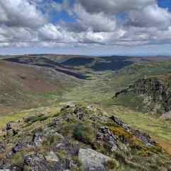 Tera Valley from atop Trevinca