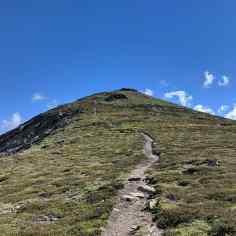 Ascent to Pena Trevinca